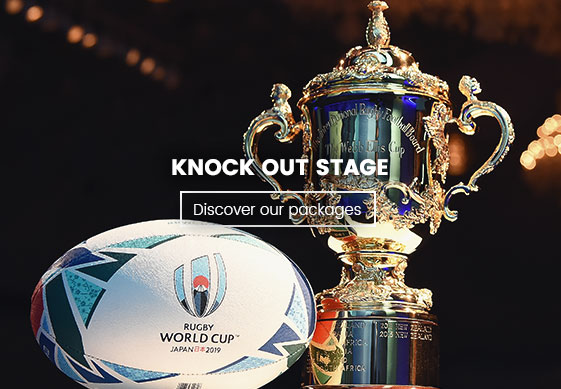 Knock out - 2019 Rugby World Cup in Japan - Couleur Voyages