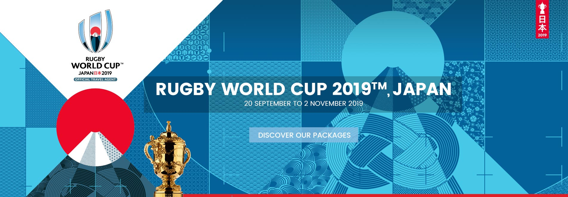 Vacation Packages 2019 Rugby World Cup in Japan - Couleur Voyages Travel